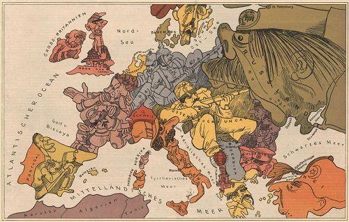 Birinci Dünya Savaşı öncesinde Avrupa'daki kamplaşma