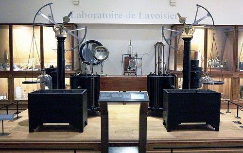 Lavoisier'nin kullandığı deney araçları