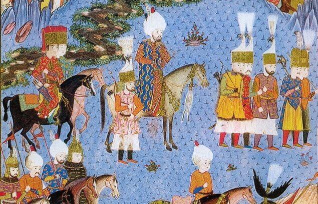 Kanuni Sultan Süleyman Nahçivan Seferinde
