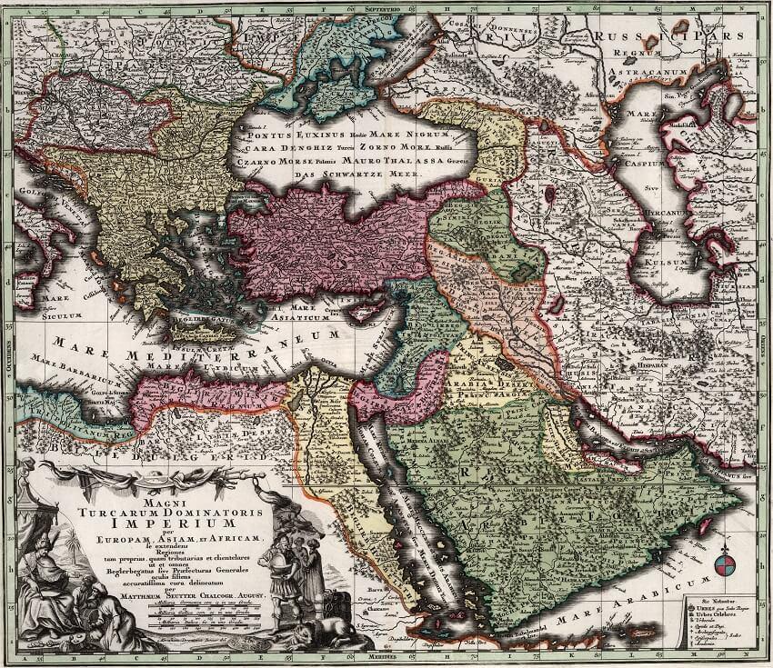 Osmanlı haritası