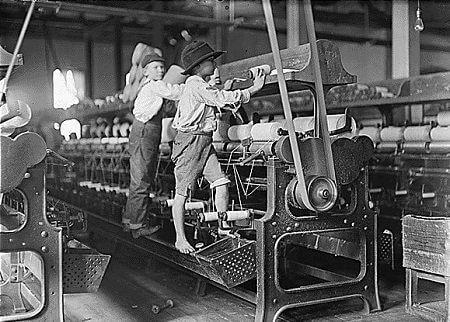Sanayi Devrimi, Fabrikada çocuk işçiler