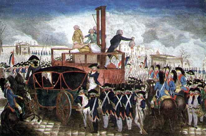 Fransız İhtilali - Kralın idamı