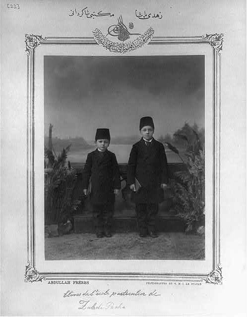 Osmanlı ilkokul öğrencileri