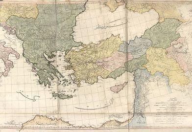 Cedid Atlas Osmanlı haritası