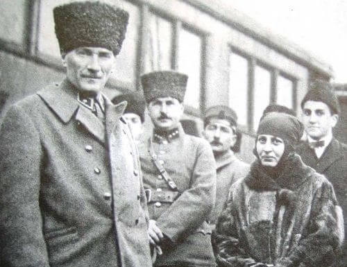 Halide Edip ve Mustafa Kemal Paşa