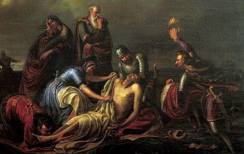 Mohaç Savaşında Macar Kralı 2. Yanoş'un ölümü