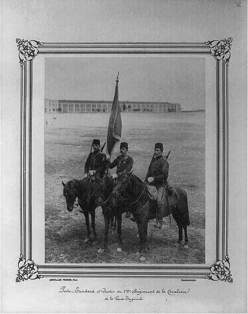 2. Abdülhamid'in Muhafız Alayından askerler