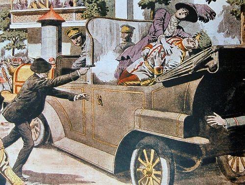 Avusturya-Macaristan Veliahtı Franz Ferdinand'ın öldürülmesi