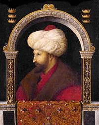 Bellini Fatih portresi
