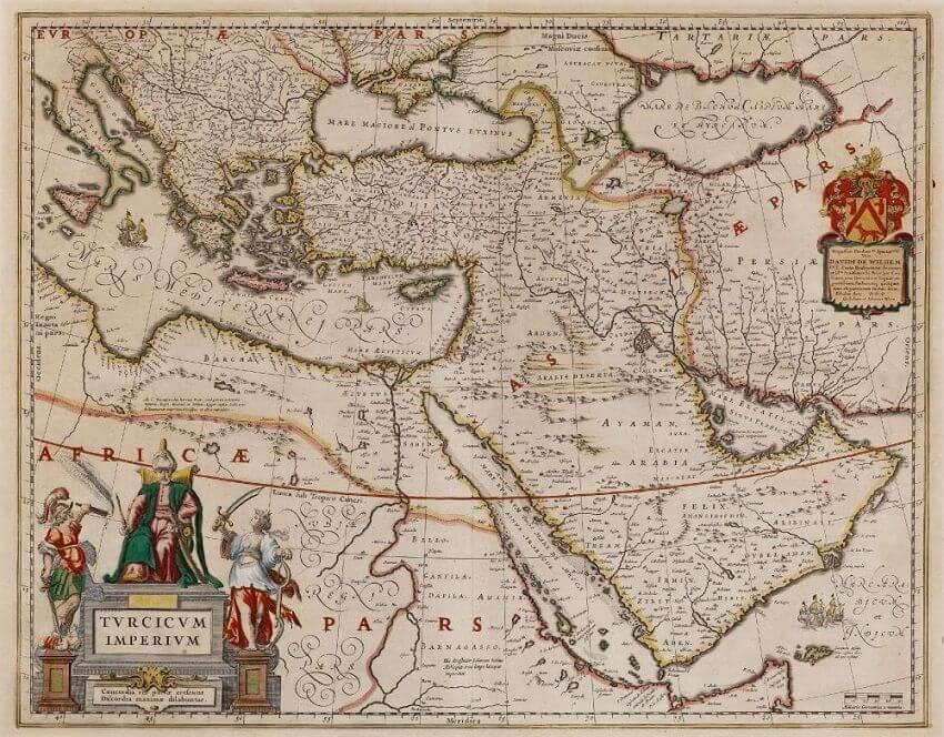 Osmanlı imparatorluğu haritası