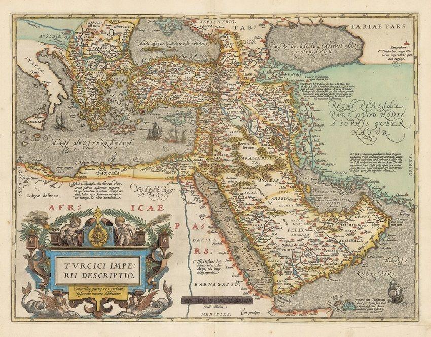 Osmanlı Devleti Haritası