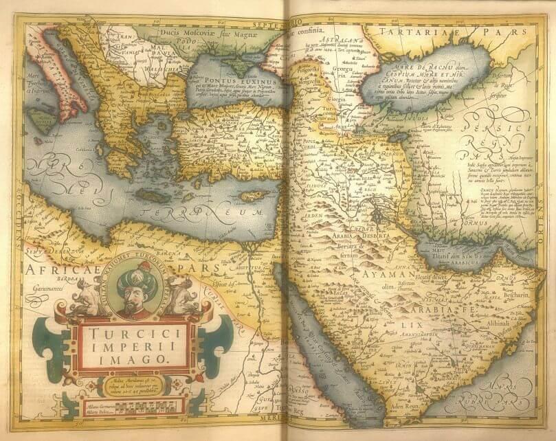 Osmanlı İmparatorluğu Haritası