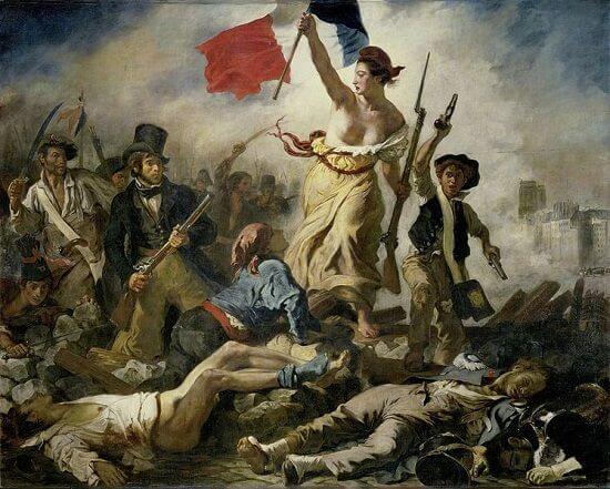 Fransız İhtilali, Halka kılavuzluk eden Hürriyet