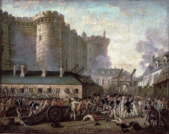 Fransız İhtilali, Bastille Bapishanesi Baskını