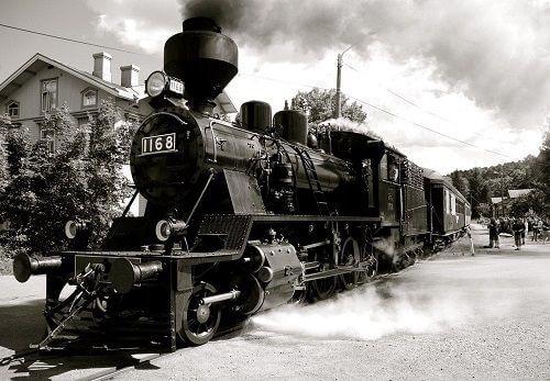 Sanayi İnkılabı, Buharlı tren