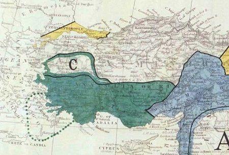 İtalyanlar nereleri işgal etti? - Anadolu'yu paylaşım haritası