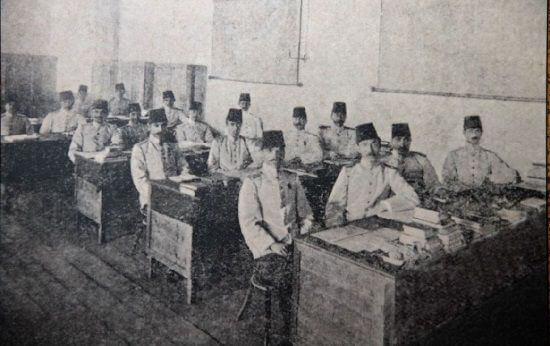 Mustafa Kemal Atatürk'ün öğrenim hayatı - Harp Akademisi