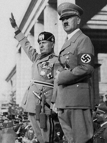 Mussolini ve Hitler, 1. Dünya Savaşının sonuçları