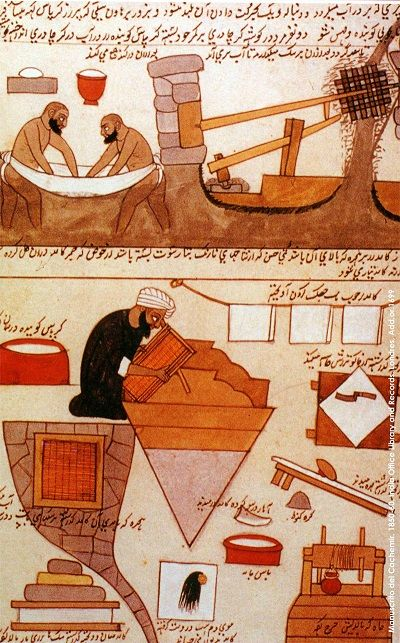 İslam dünyasında kağıt üretimi